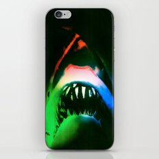 SHARK!  POWER SURGE iPhone & iPod Skin