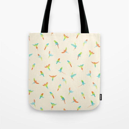 Parrots ! Papagei ! Tote Bag