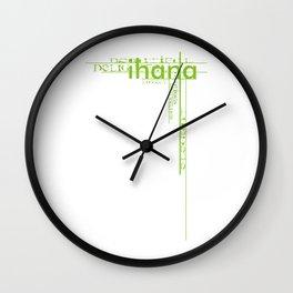 Ihana Wall Clock
