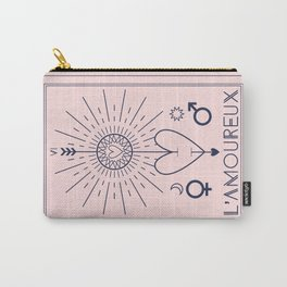 L'Amoureux or The Lovers Carry-All Pouch