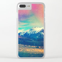 Grand Illusion Clear iPhone Case