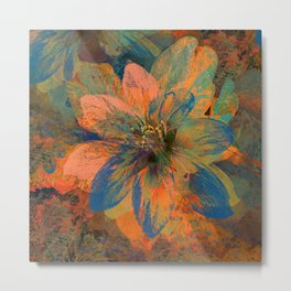 Floral abstract 43 Metal Print