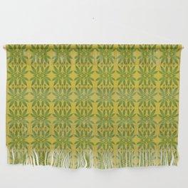 Marijuana Leaf Pattern Wall Hanging