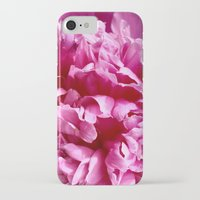 peony iPhone & iPod Cases featuring Peony by IowaShots