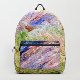 Christ Calming the Seas by James Ensor Backpack