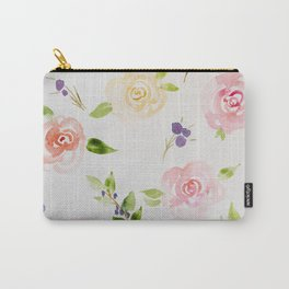 Petite Florals Carry-All Pouch