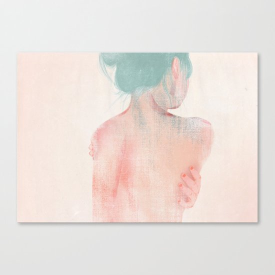 Something About Women IV Canvas Print