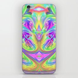 Psychedelic Alien Life iPhone Skin