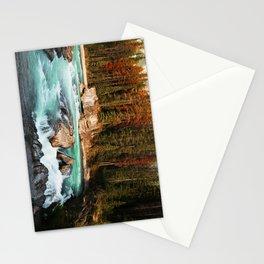 Natural Bridge Falls - Yoho, BC Stationery Cards