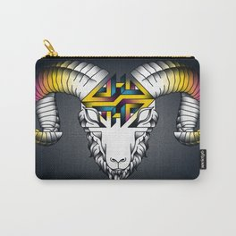 Aries - First of the Zodiac Carry-All Pouch