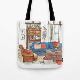 Will and Grace - Will Truman's Apartment Tote Bag