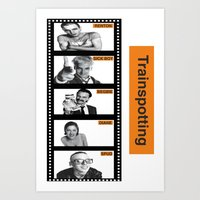 trainspotting Art Prints featuring TRAINSPOTTING by Rocky Rock