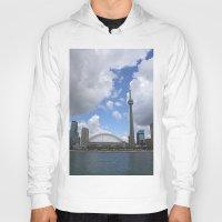 toronto Hoodies featuring Toronto by Rose&BumbleBee