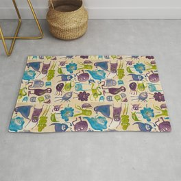 Critter pattern cool Rug