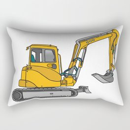 Digger excavators dredger Rectangular Pillow