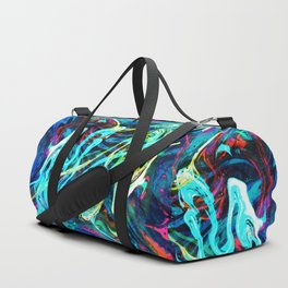 Fluid Abstract 29 Duffle Bag
