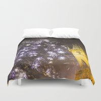 fireworks Duvet Covers featuring Fireworks 2 by Veronika