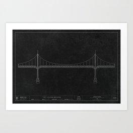 St. Johns Bridge — Darkprint Art Print
