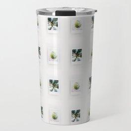 Polaroid Palm Tree Travel Mug