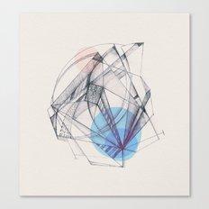 Structura Canvas Print