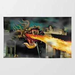 Barton The Mutant Salamander Rug