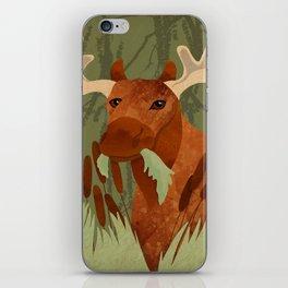 Moose Munch iPhone Skin