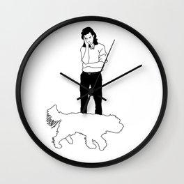 Nick Cave Wall Clock