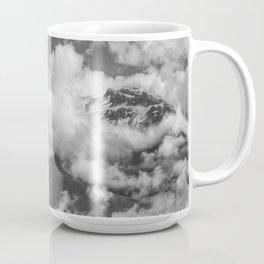 Volcano Chachani Covered by Clouds Coffee Mug