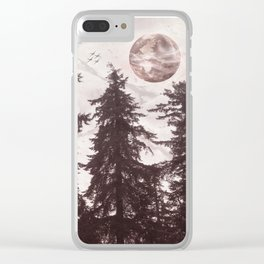 Woodland Echo Clear iPhone Case
