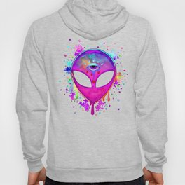 Alien Melt - pink Hoody