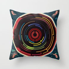 We Come Undone Throw Pillow