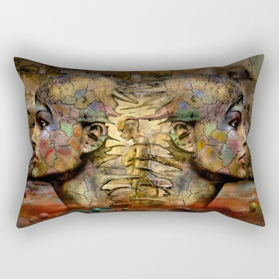 Source of Life Rectangular Pillow