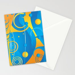 Abstract vector Stationery Cards