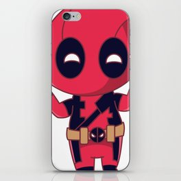 Chibi Dead-pool iPhone Skin