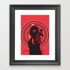 Witness Framed Art Print