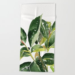 Leaves Beach Towel