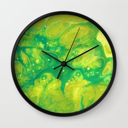Green #2 Wall Clock