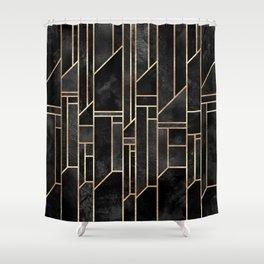 Black Skies Shower Curtain