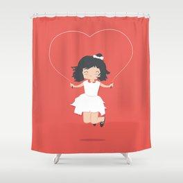 Jump for Joy Shower Curtain