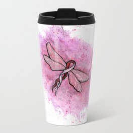 basal and squamous cell carcinoma awareness ribbon Travel Mug