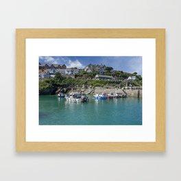 Newquay harbour 2 Framed Art Print