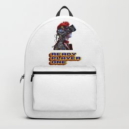 Ready Player One Parzival Logo Backpack