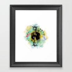 Kings of hearts Framed Art Print