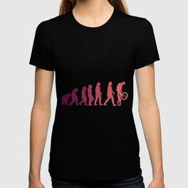 BMX EVOLUTION Funny Freesyle Biker Gift Cyclist T-shirt