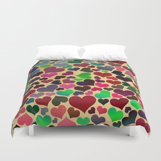 Joyful Love 2 Duvet Cover