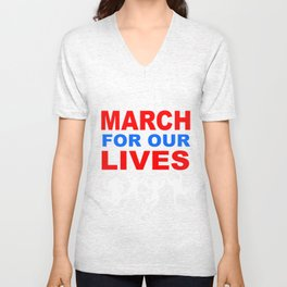 march for our live Unisex V-Neck