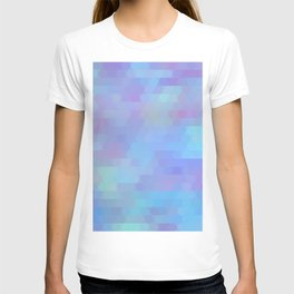 Color Vibe abstract geometric T-shirt