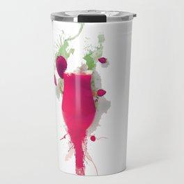 Sorbet fraises chantilly painting colors fashion Jacob's Paris Travel Mug