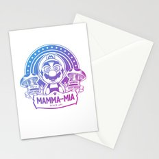 Mamma Mia Super Mario is-a Crazy Stationery Cards