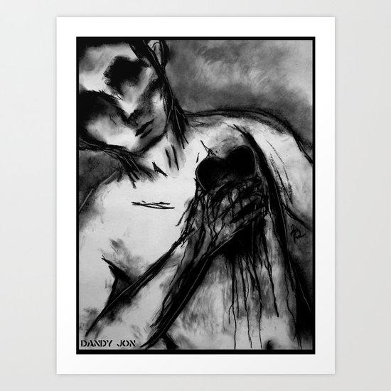 Stripped Bare Art Print